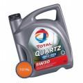 Total Масло моторное Синтетика QUARTZ INEO ECS 5w30 (5л) под сажевый фильтр