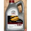 TOYOTA Масло моторное Motor Oil 5w40 SL/CF A3/B3/B4 (5л) (Европа) 08880-80375 Синтетика