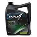 Wolf Моторное масло Ecotech 5W30 Ultra FE 5л