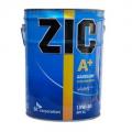 ZIC А Plus 10w40 полусинтетическое 20 литров